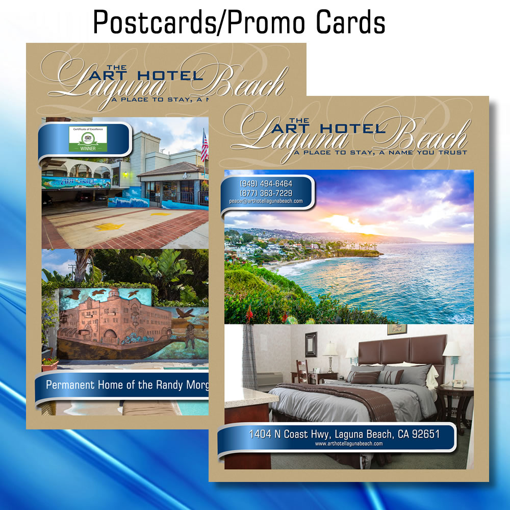 Postcards and Promo Cards